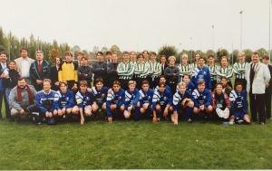 """AJFC - Southborough On aperçoit sur cette photo Yvon Cousin et Michel Deneuville venus supporter les """"jeunes"""""""